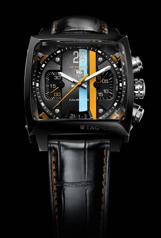 Tag Heuer Monaco #watch