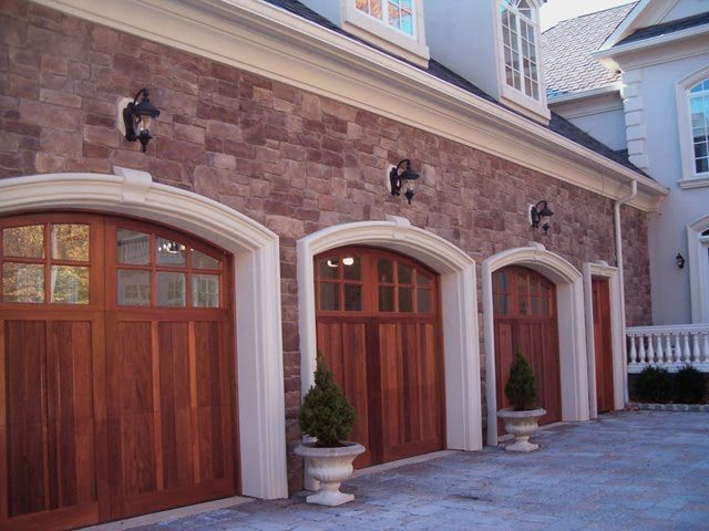 41 Best Images About Wood Carriage House Garage Doors On