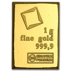 Invest in Valcambi 1 gram Gold bars and other Gold bars for sale at APMEX. Each Gold bar contains 1 gram of .9999 fine Gold, making the Gold bullion an ideal and affordable way to invest in Precious Metals.   www.apmex.com