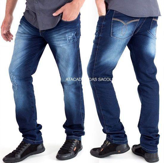 Calças Jeans Masculinas - Roupas no Atacado Atacadão Das Sacoleiras Miami Brasil, Réplicas