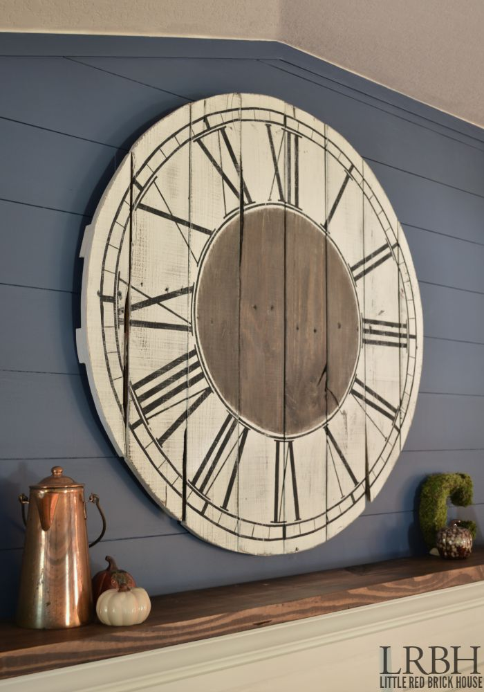 Reloj de pared 20 Awesome DIY Pallet Projects