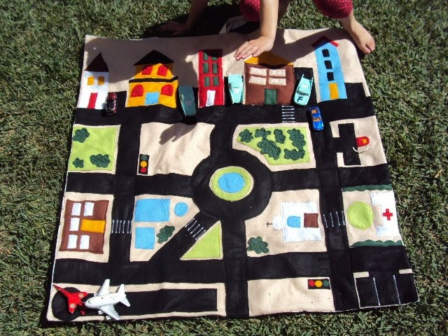 lovely little sweetpeas my car loving kids car play mat