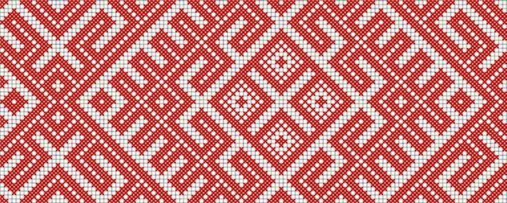 Традиционные Славянские обережные узоры для одежды
