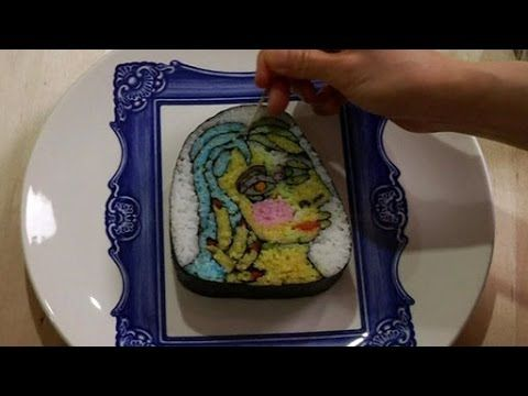 BBC Learning English: Video Words in the News: Sushi art (16 July 2014) - YouTube