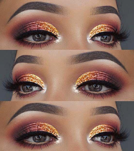 23 Wunderschöne Sommer Makeup Looks für 2018, #looks #makeup #sommer #wunderschone