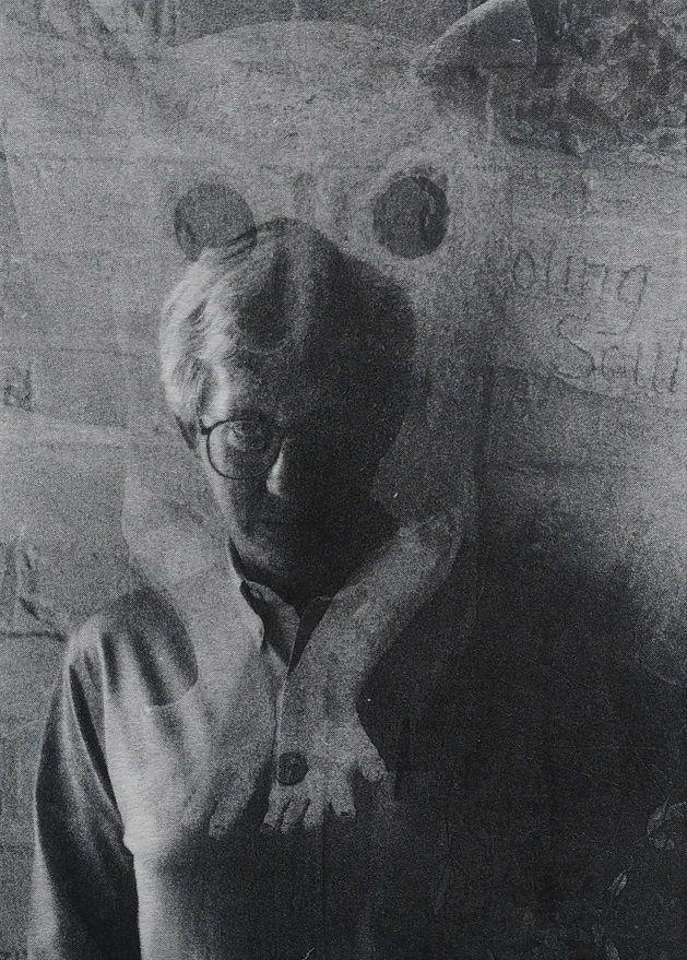 Casper Schmidt, c. 1980s. Founding editor of Wurm and Izwi contributor