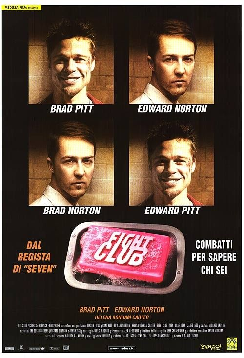 an analysis of the film fight club by david fincher Asks the finale of fight club the movie  no questioning the feeling of strange  elation with which david fincher sends us out of the theater  and hopeless, a  finale that ties up the book's themes in a way that the film doesn't.