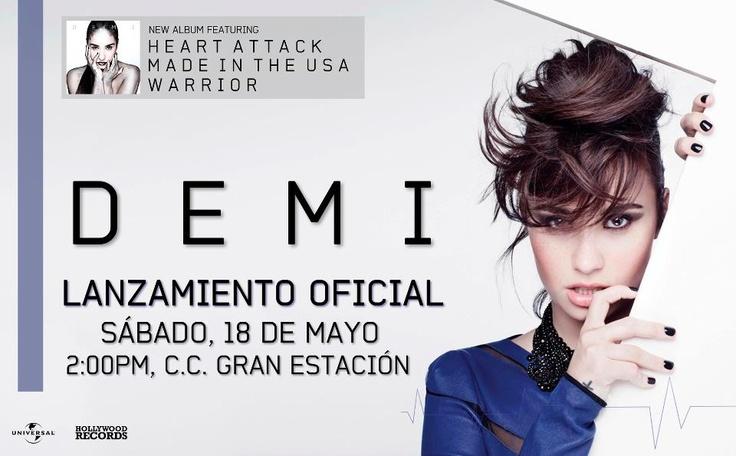 Lanzamiento del nuevo álbum de Demi Lovato.