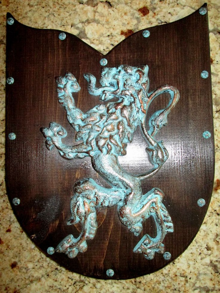 details about two shield wall plaque old world. Black Bedroom Furniture Sets. Home Design Ideas