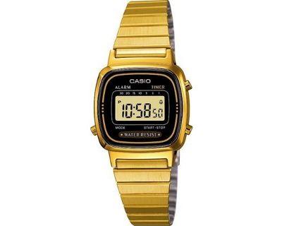 reloj casio dorado mujer