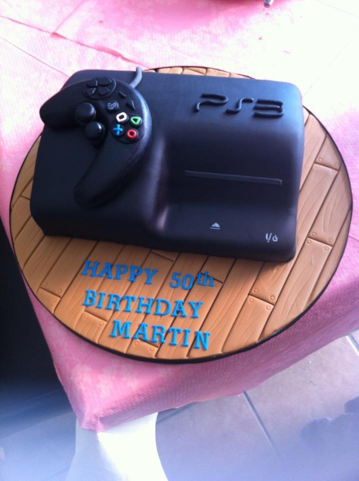 Playstation Cake Playstation Pinterest Groom Cake