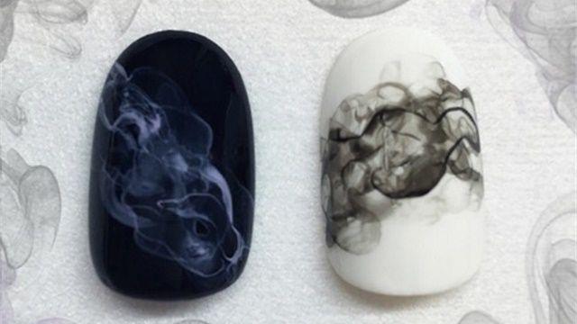 How-To: Smoke Nail Art