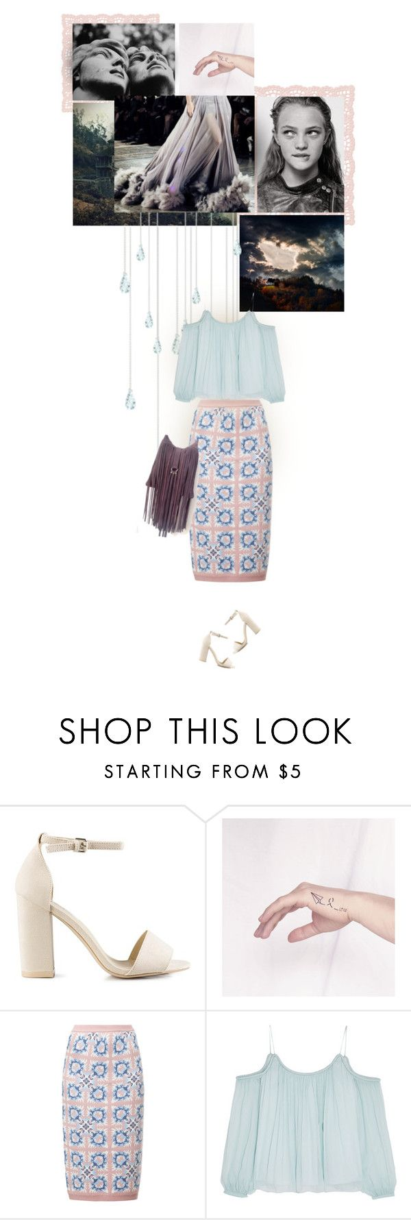 """rainfall"" by pinkpitahaya ❤ liked on Polyvore featuring Nly Shoes, Tak.Ori and Elizabeth and James"