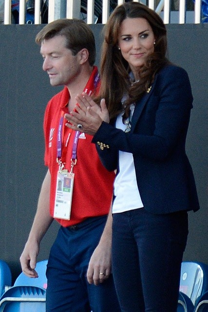 Kate Middleton dresses down to cheer on Team GB | Marie Claire