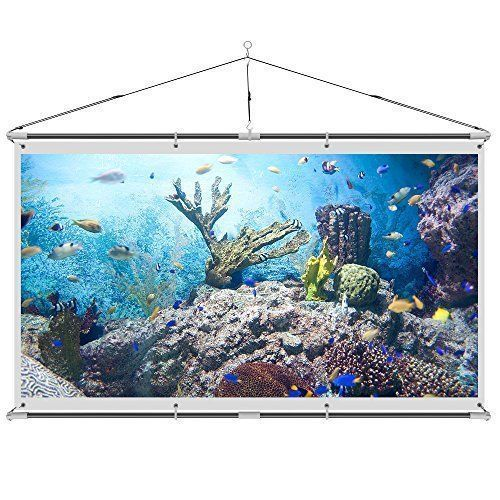 JaeilPLM Indoor 120-Inch Portable Wrinkle-Free Wall Mounted Projector, Projection Screen. 4K HD Compatible. Good for Gaming, Home Theater Setup, and Watching Movies. Semi-Permanent, No Pull Down. -  http://www.wahmmo.com/jaeilplm-indoor-120-inch-portable-wrinkle-free-wall-mounted-projector-projection-screen-4k-hd-compatible-good-for-gaming-home-theater-setup-and-watching-movies-semi-permanent-no-pull-down/ -  - WAHMMO #hometheaterprojectormount #portableprojectorscreen