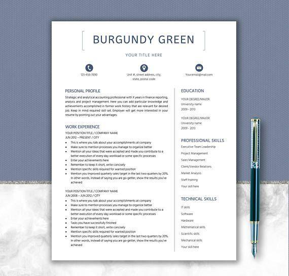 Other Words For Resume 78 Best Resume Design Professional Images On Pinterest