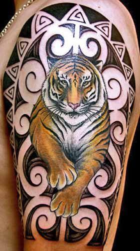 42 best the year of tiger tattoos images on pinterest. Black Bedroom Furniture Sets. Home Design Ideas