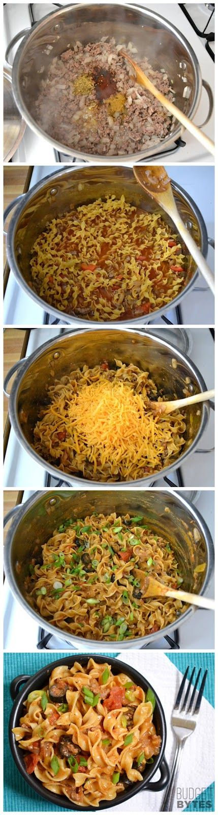 Beef Taco Pasta-Pinning this even though I'm trying to avoid too many pasta dishes, looks yum.