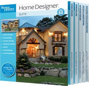 Top Home Design and Architecture Software Programs: Better Homes and Gardens Home Designer Software