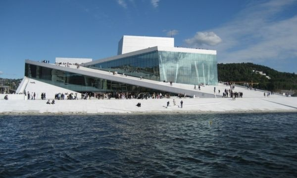 Oslo - Entertainment - The Norweigan National Opera and Ballet House