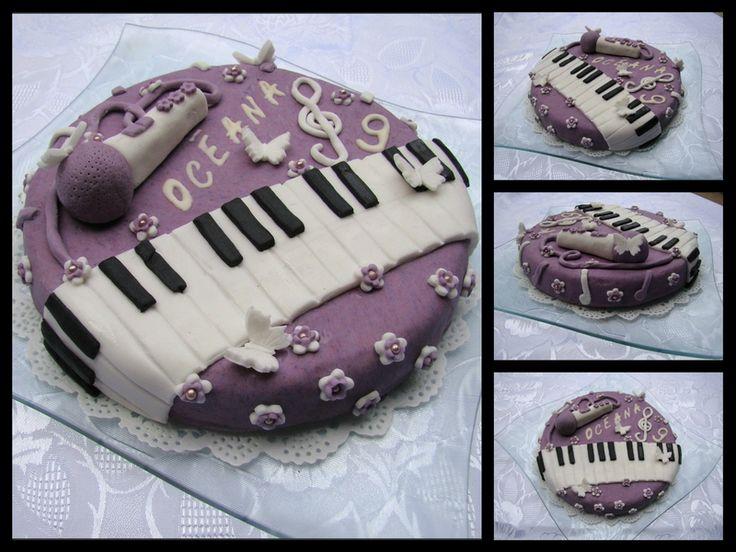 Violetta cake - Gâteau Violetta Disney