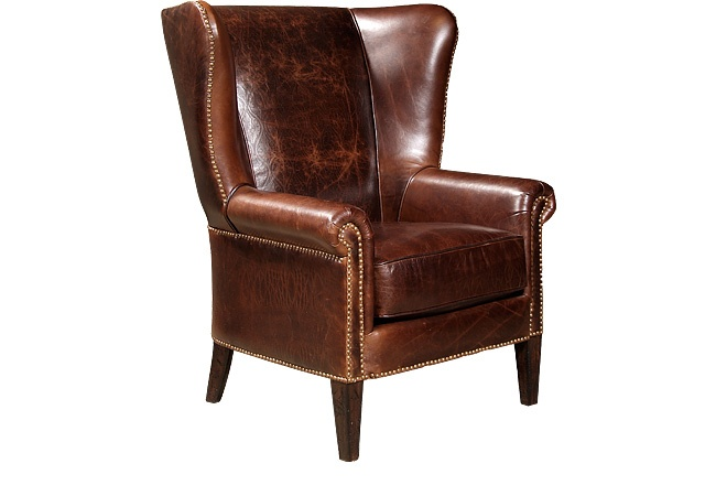 Leather Office Chair Pottery Barn: 22 Best Images About Leather Chair Living Room On