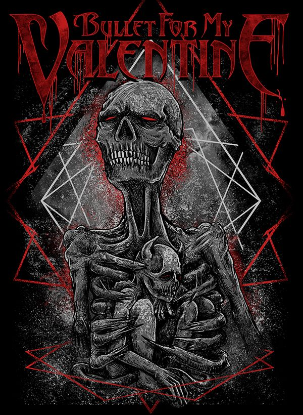 Bullet For My Valentine on Behance