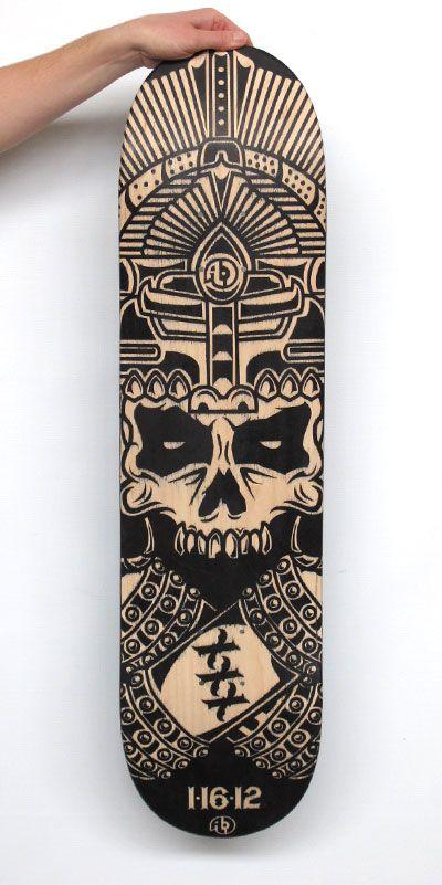 Deck. Skateboard ArtSkateboard DesignCustom ...