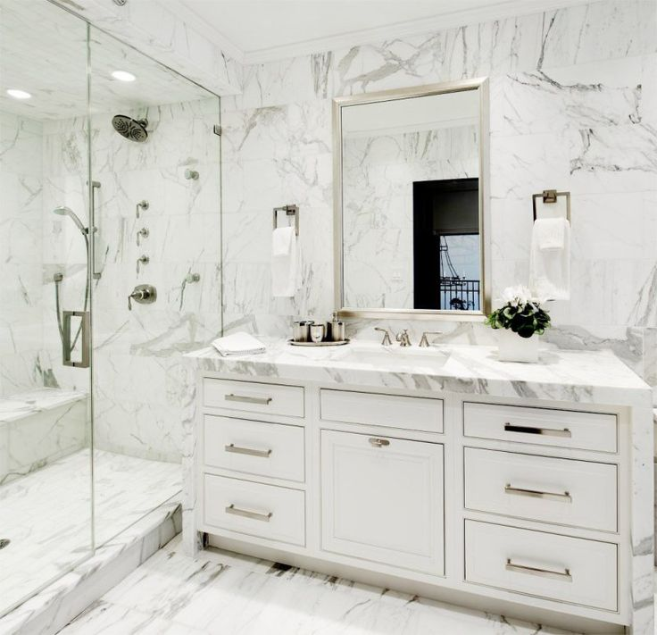 Beautiful Bathrooms With Carrera Marble 124 best beautiful baths images on pinterest | bathroom ideas