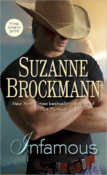 Infamous by Suzanne Brockmann - It was a unique read, imo, and one that I will definitely go back to read again someday... which says a lot.
