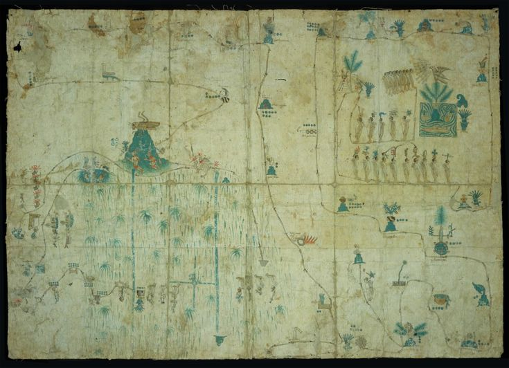 Códice el Mapa de Sigüenza. http://mixtecosymigrantes.blogspot.mx/2014/10/codice-mapa-de-siguenza.html?view=flipcard
