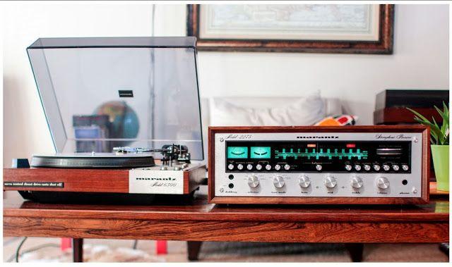 Golden Age Of Audio: Marantz 2275 Receiver with Marantz 6300 Turntable