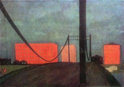 Попков В. Е. Мост в Архангельске