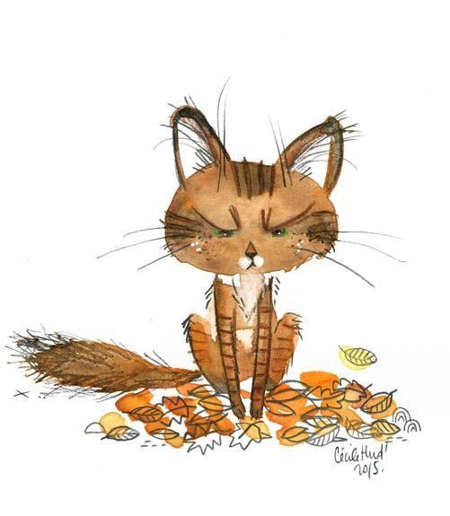 avec sa queue en panache et ses oreilles touffues, Mooli imite super bien l'écureuil, je trouve. (oui, quand je ramasse les...