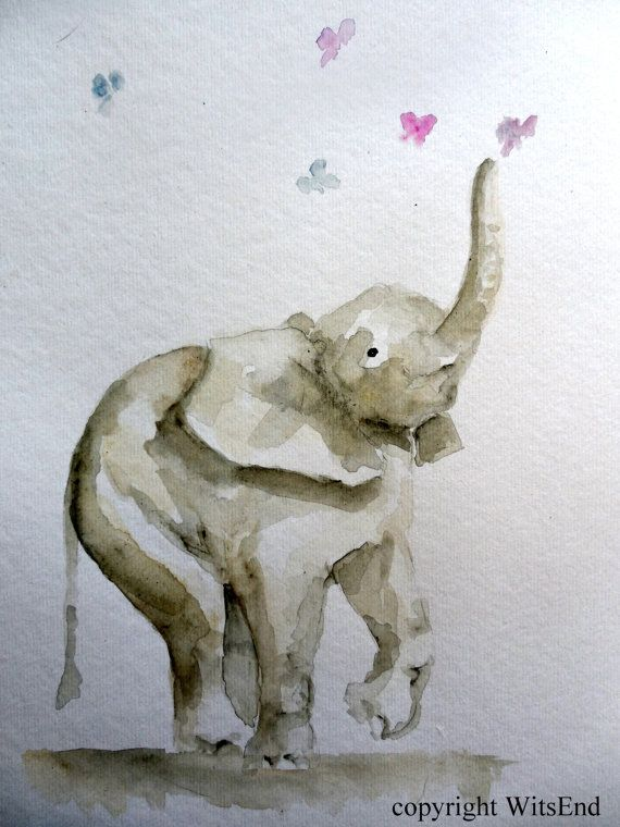 100 Ideas To Try About Watercolor Elephants Elephant