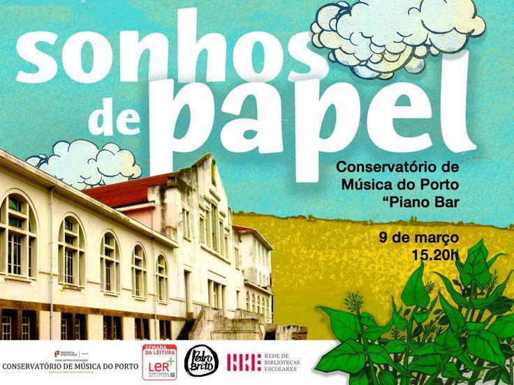 É com enorme satisfação que vou apresentar, no Conservatório de Música do Porto (Piano Bar),