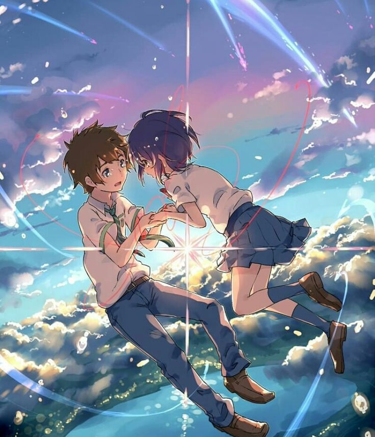 Pin by Adzia Otaku on Kimi no nawa Anime, Kimi no na wa