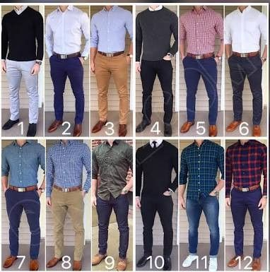 Want to try a more fitted pant look
