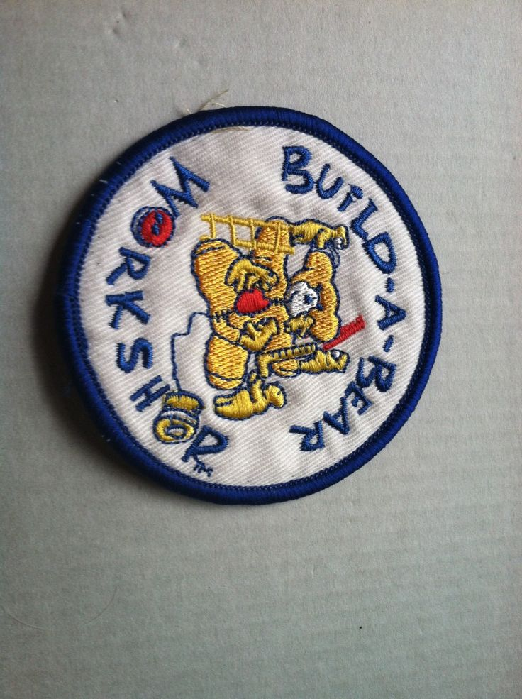 Build A Bear Girl Scout Patch