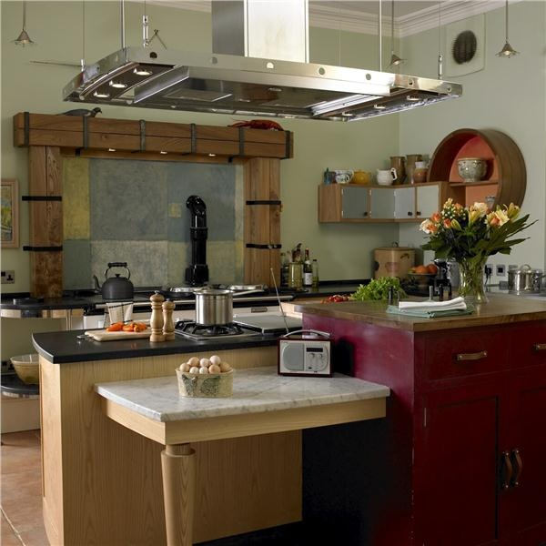 Contemporary (Modern, Retro) Kitchen by Johnny Grey-wooden arch over aga