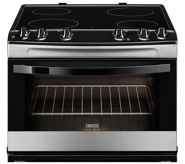 Buy ZANUSSI ZCV66030XA Electric Ceramic Cooker - Stainless Steel | Free Delivery | Currys