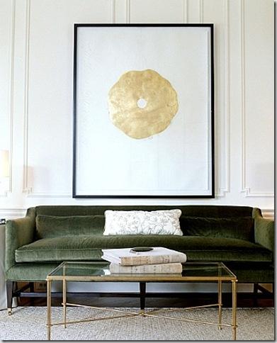 Green & gold. Simple. Stunning.
