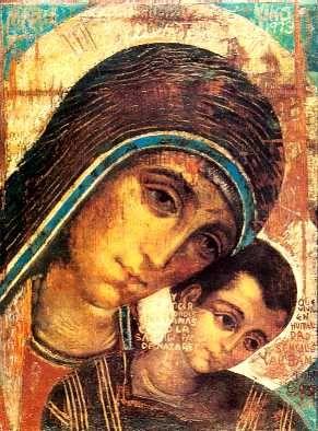 Realizzazione Vergine del Cammino di Kiko Arguello in Punto Croce