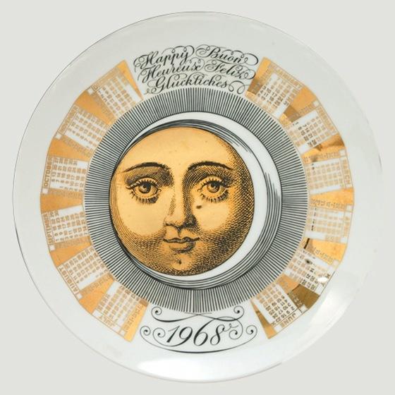 fornasetti piatti calendario1968