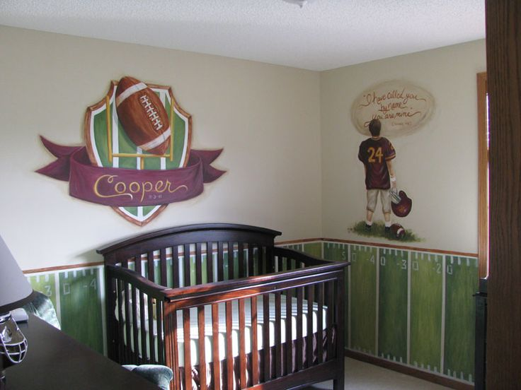 Football Theme Nursery
