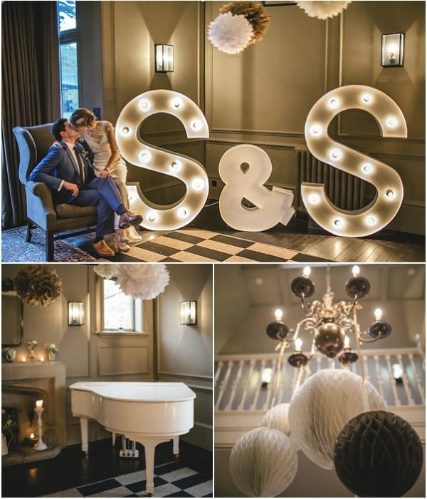 A Super Stylish Wedding with 1930′s Glamour from Kat Hill Photography. To see more: http://www.modwedding.com/2013/12/02/super-stylish-wedding-1930s-glamour-kat-hill-photography/