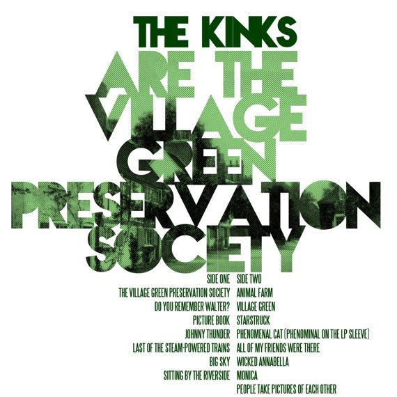 Kinks the Are The Village Green Preservation Society