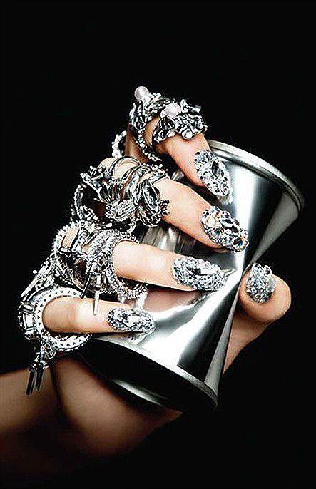 Silver:  #Silver jewelry, Vogue Gioiello Sept. 2012.
