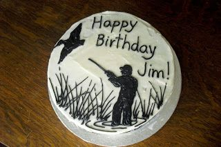 Sugar - Cookies, Cakes and More: Duck Hunter Cake