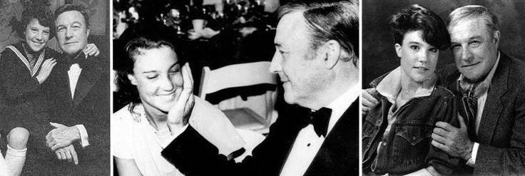 Gene Kelly with his third child Bridget.